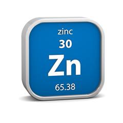 Zinc material sign