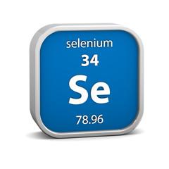 Selenium material sign