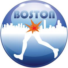Boston maratona corsa esplosioni