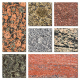 Granite samples collection