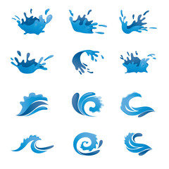 Water Vector Set