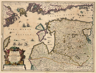 Lithuania old map