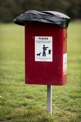 A Dog Foul Waste Bin