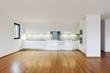 interior modern empty flat, apartment