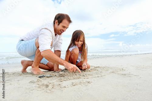 beach family fun