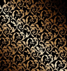 Beautiful gold wallpaper