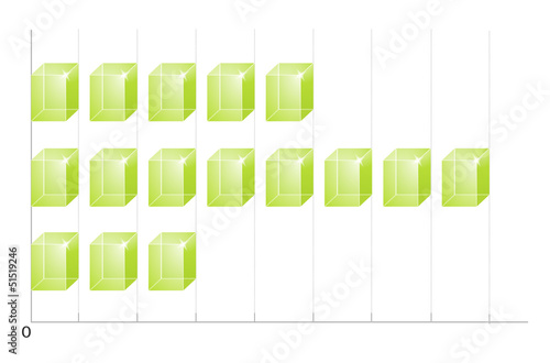 green 3d graph