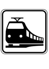 Schild Eisenbahn