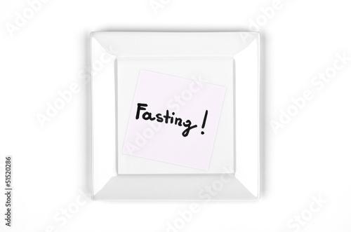 Fasting, fad diet