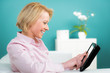 online mit dem touchpad