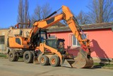 working machinery, excavators