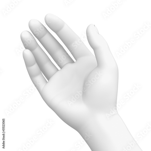 White Right Hand - Holding