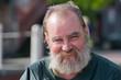 Smiling Homeless Man