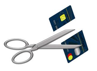 Taglio carta di credito