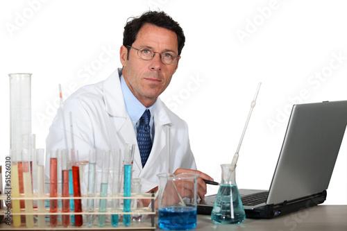 portrait of a lab assistant