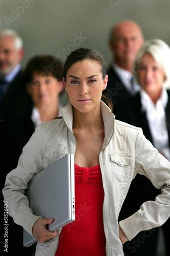 A confident intern