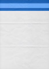 blue paper template
