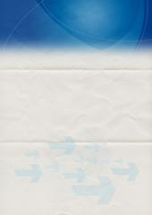 folded letter template