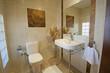 Bathroom in a luxury apartment