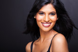 beautiful young indian model close up