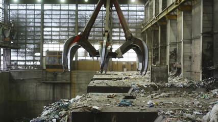 Industrial waste dump