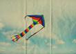 kite on paper