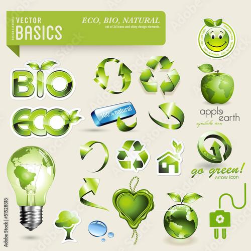 basics: eco and bio design elements