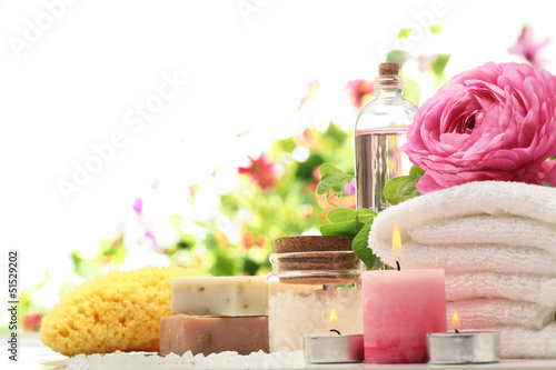 Spa and bath accessories