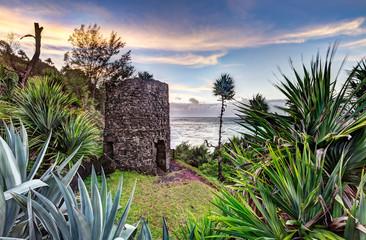 Four à chaux de manapany les bains - Ile de la Réunion