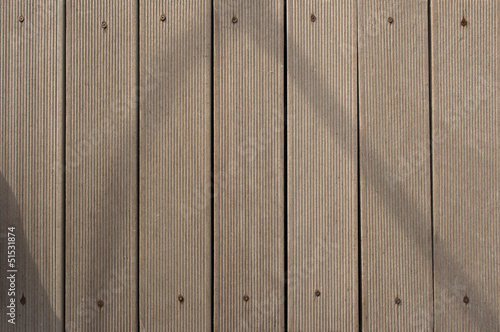 Wooden Boards and Rusty Screws