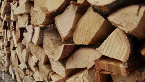 Pile of wood, Firewood to cold winter