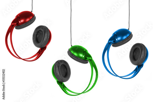 Large colorful headphones