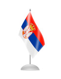 The Serbian flag