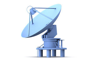 Satellite dishes antenna