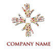 People Portrait Collage - hands company LOGO