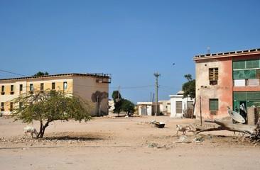 City of Berbera in Somalia