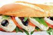 Salad-sub-sandwich-mozzarella-tomato-olives