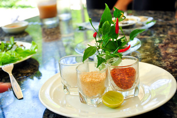 Seasoning of Pad-Thai