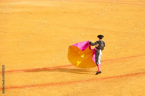 Staande foto Stierenvechten Matadors at bullring
