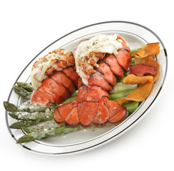 Grilled Lobster Tail Plate