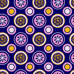 vector multicolor abstract pattern
