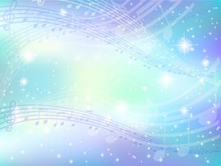 背景 音符 楽譜 空