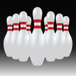 Set Of Bowling Pins