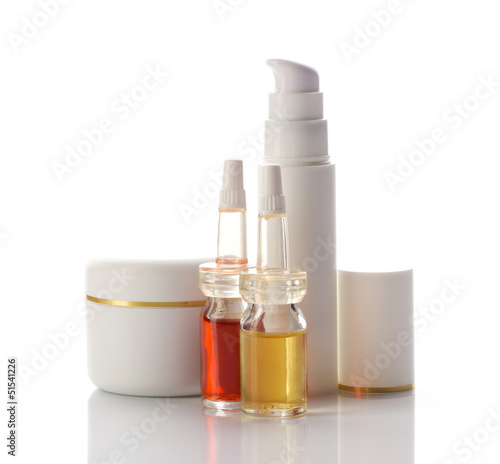 facial and body cosmetics products