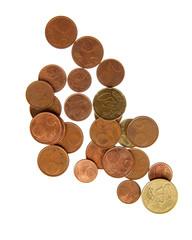 Eurocent coins