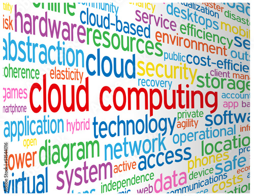 CLOUD COMPUTING Tag Cloud (technology internet web big data)