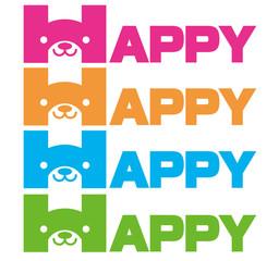 HAPPY DOG ANIMAL 犬 動物
