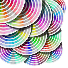 Abstract Background Color Palette - Circles