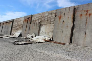 Muro degradato