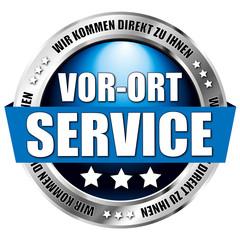 """button """"vor ort service"""""""